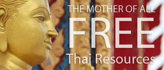 Learning Thai for FREE