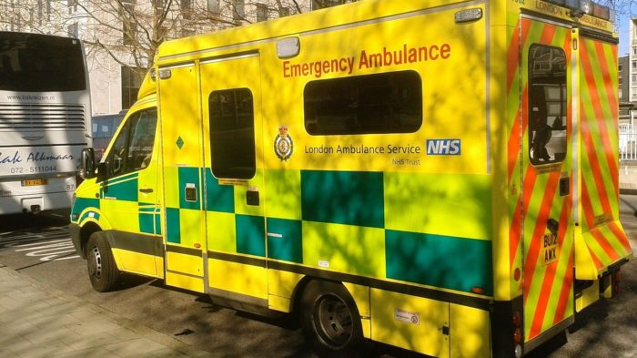 emergency ambulance in the UK
