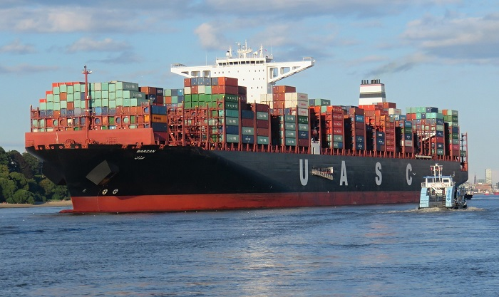 container shipping be sea