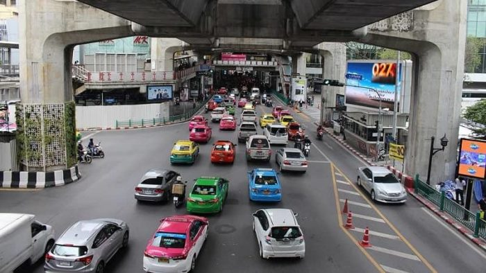 Traffic in Bangkok is unpredictable especially during rush hour. BTS and MRT is usually a better alternative.
