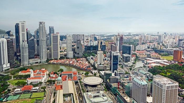 Singapore residential area