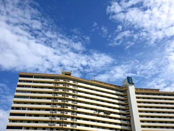 Sunny apartment in Singapore
