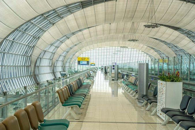 Suwanabhumi Airport Departure Area