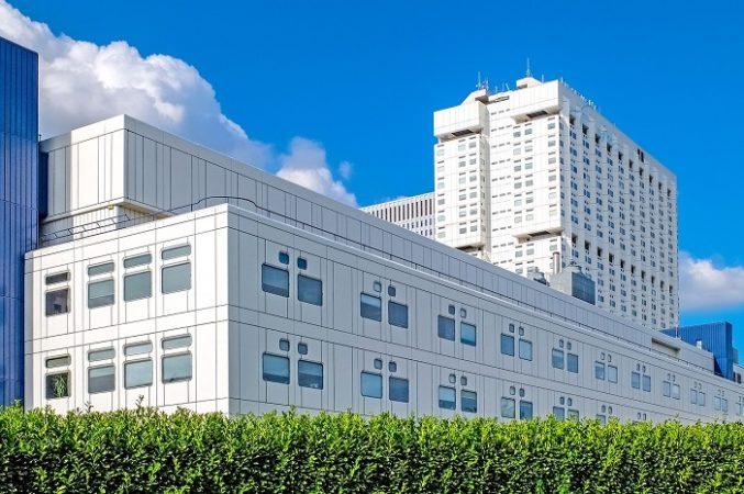 modern private hospital