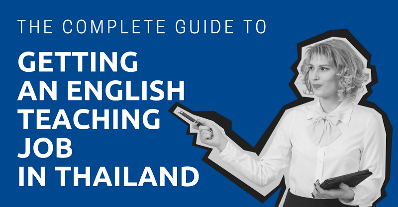 Getting an English Teaching Job in Thailand