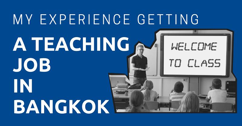Teaching Job in Bangkok