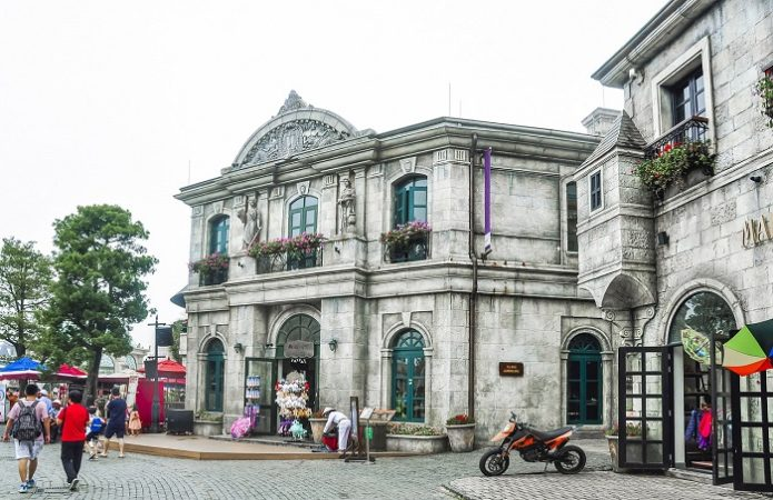European architecture in Danang