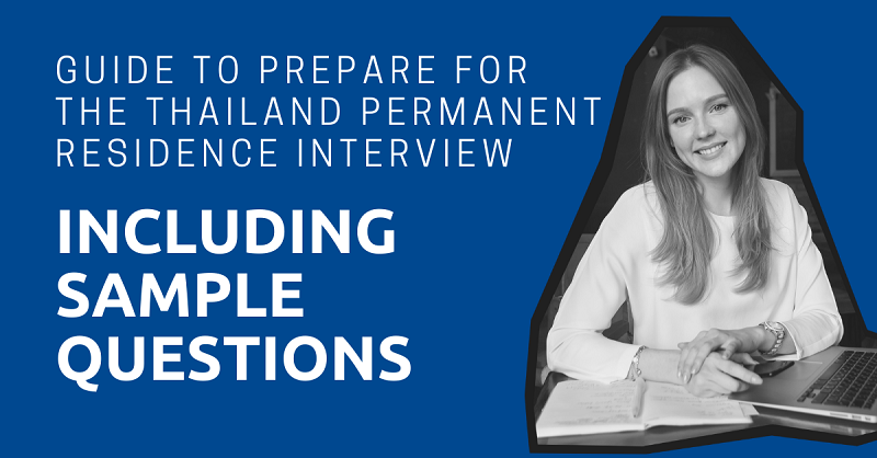 Prepare for the Thailand Permanent Residence Interview