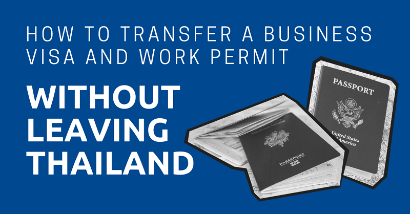 Transfer a Business Visa and Work Permit