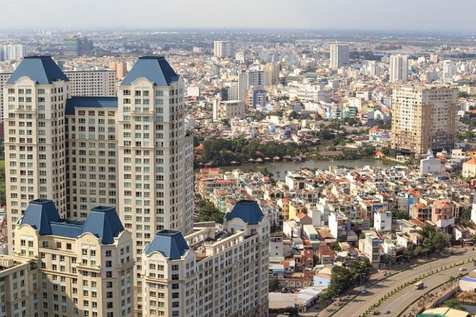 high-rise apartment in HCM