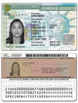 greencard the United States