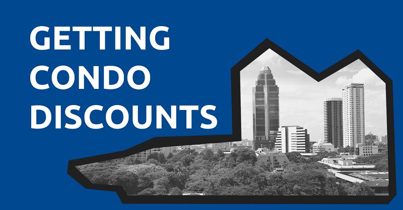 Getting Condo Discounts