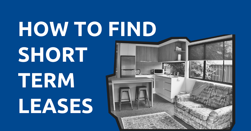 How to Find Short Term Leases