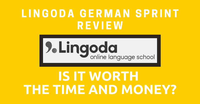 Lingoda German Sprint Review Is it Worth the Time and Money
