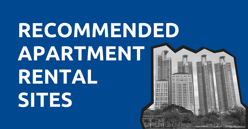 Recommended Apartment Rental Sites