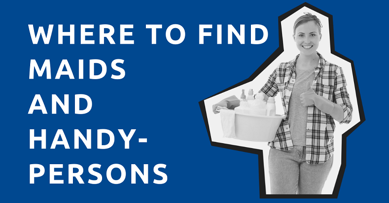 Where to Find Maids and Handypersons