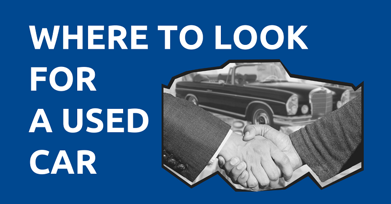 Where to Look for a Used Car