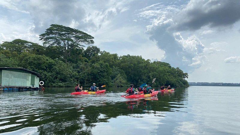 kayaking in Singapore